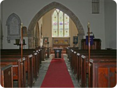 Inside St Ethelbert's Church