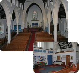Inside St Stephen's Church