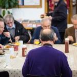 Bishop Michael sits down to breakfast