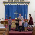 Ben's baptism