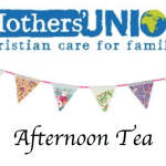 Mothers' Union Tea Party – Saturday 20 August