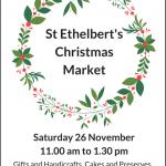 St Ethelbert's Christmas Market – Sat 26 Nov