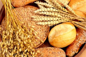 Bread, wheat and grains